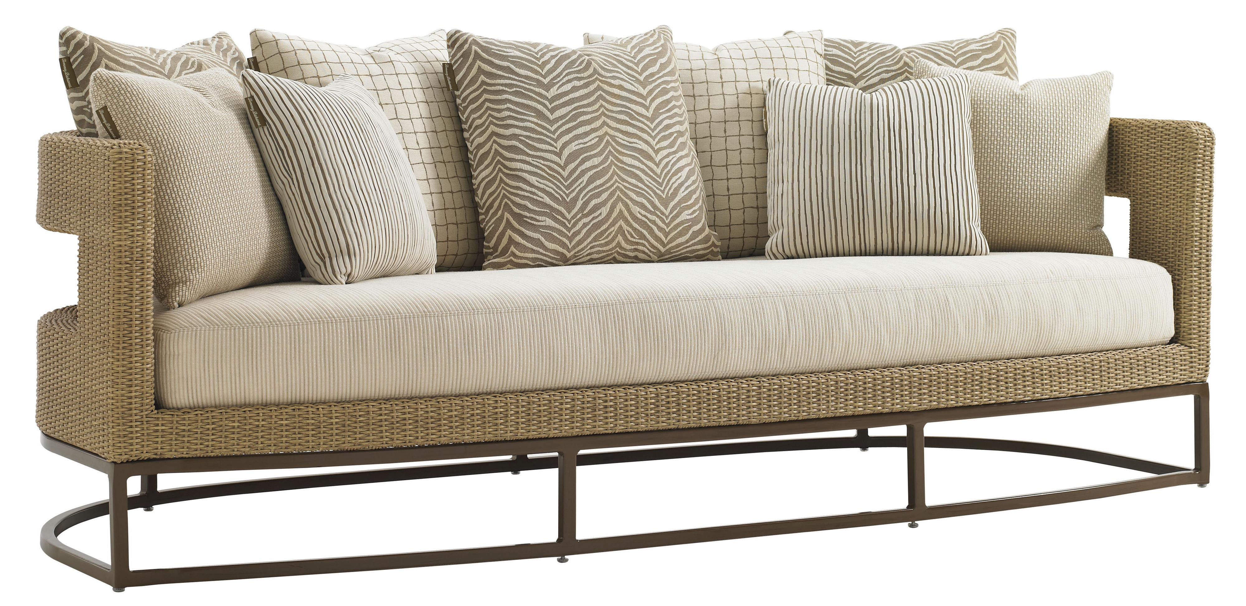 Tommy Bahama Outdoor Living Aviano Outdoor Sofa - Item Number: 3220-33+CS3220-33