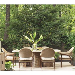 Tommy Bahama Outdoor Living Aviano 7 Piece Outdoor Dining Table Set