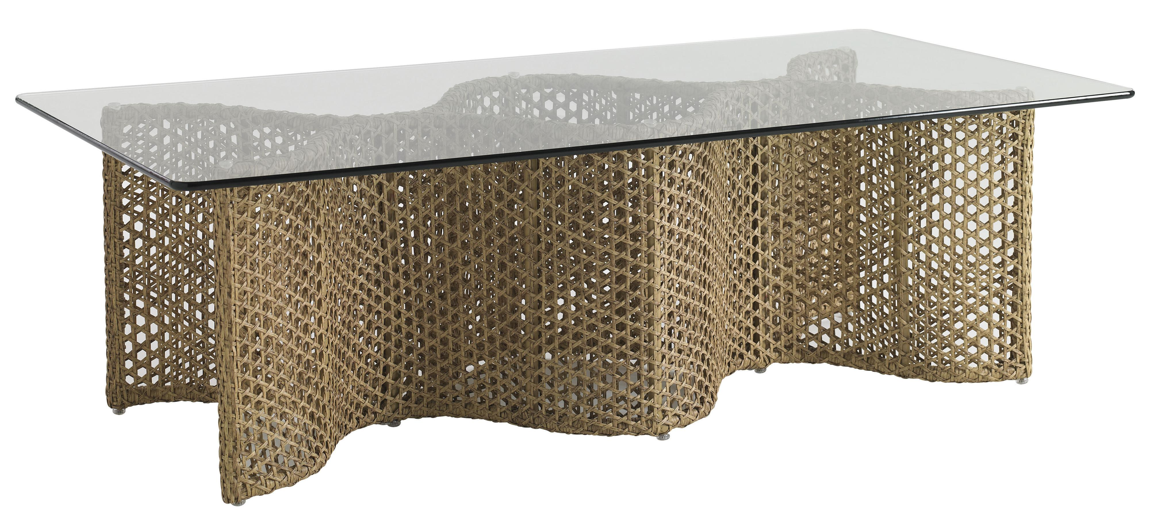 Aviano Outdoor Cocktail Table by Tommy Bahama Outdoor Living at Baer's Furniture