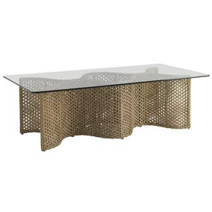 Tommy Bahama Outdoor Living Aviano Outdoor Cocktail Table