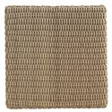Tommy Bahama Outdoor Living Aviano Outdoor Twisted Square Wicker End Table  - Table Top View