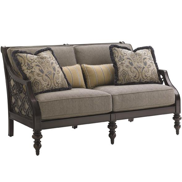 Black Sands Outdoor Love Seat by Tommy Bahama Outdoor Living at Baer's Furniture