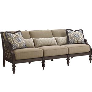 Tommy Bahama Outdoor Living Black Sands Outdoor Sofa