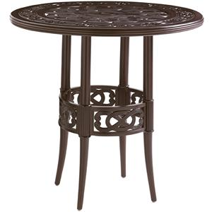 Tommy Bahama Outdoor Living Black Sands Outdoor High/ Low Bistro Bar Table