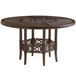 Tommy Bahama Outdoor Living Black Sands Outdoor Round Dining Table