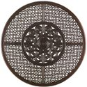 Tommy Bahama Outdoor Living Black Sands Outdoor Round Dining Table With Elegant Design - Detail of Table Top