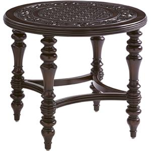 Tommy Bahama Outdoor Living Black Sands Outdoor Round End Table