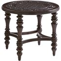 Tommy Bahama Outdoor Living Black Sands Outdoor Round End Table - Item Number: 3235-950