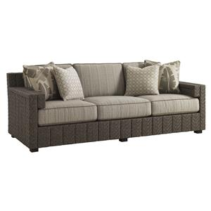 Tommy Bahama Outdoor Living Blue Olive Sofa