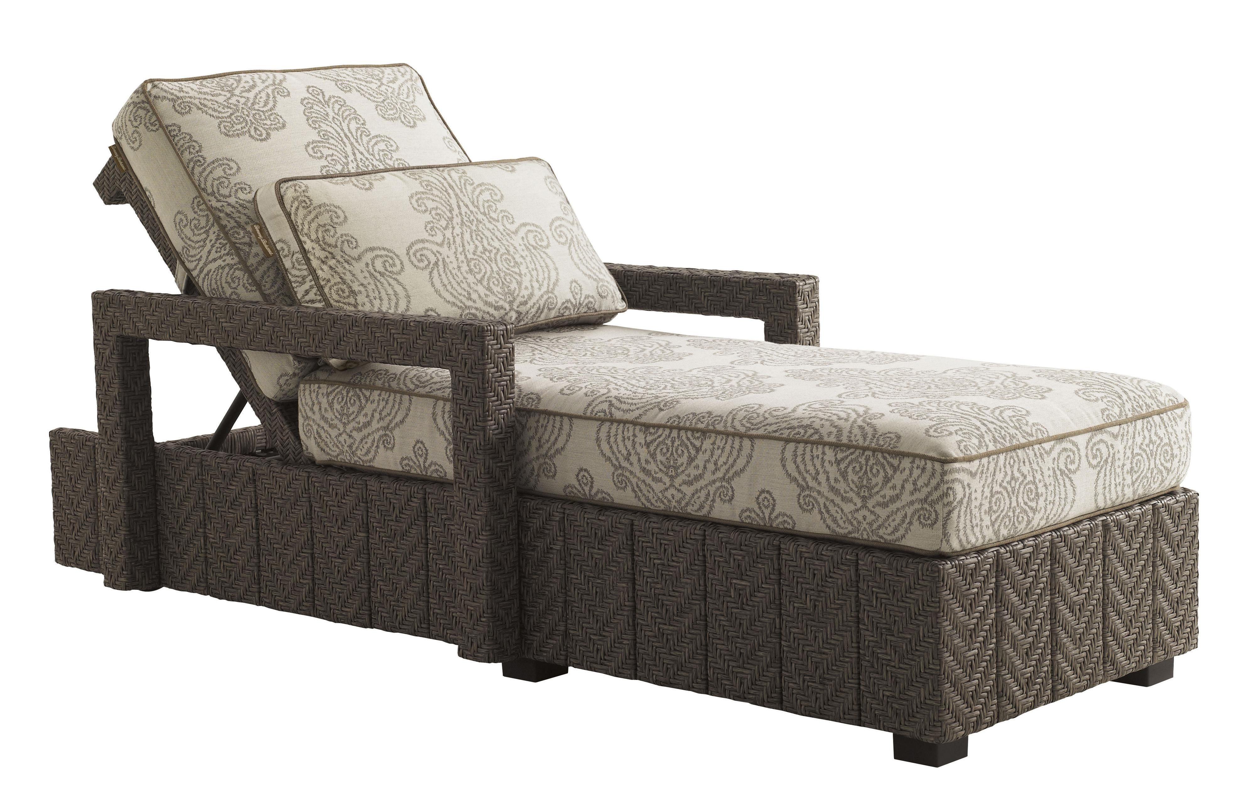 Blue Olive Chaise Lounge by Tommy Bahama Outdoor Living at Baer's Furniture
