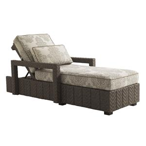 Tommy Bahama Outdoor Living Blue Olive Chaise Lounge
