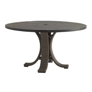"Tommy Bahama Outdoor Living Blue Olive 54"" Round Dining Table"