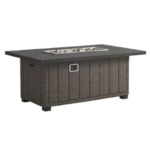 Tommy Bahama Outdoor Living Blue Olive Gas Fire Pit