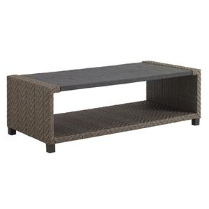 Tommy Bahama Outdoor Living Blue Olive Rectangular Cocktail Table
