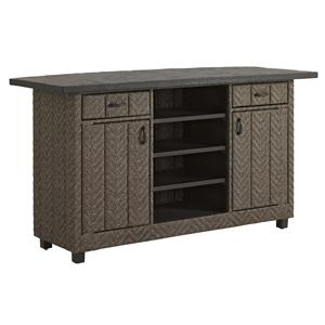 Tommy Bahama Outdoor Living Blue Olive Bar w/ Weatherstone Top