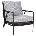 Tommy Bahama Outdoor Living Cypress Point Ocean Terrace Outdoor Occasional Chair - Item Number: 3900-09+CS3900-09-7076-72