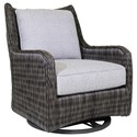 Tommy Bahama Outdoor Living Cypress Point Ocean Terrace Outdoor Occasional Swivel Glider - Item Number: 3900-10SG+CS3900-10SG-7052-71