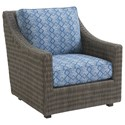 Tommy Bahama Outdoor Living Cypress Point Ocean Terrace Outdoor Lounge Chair - Item Number: 3900-11+CS3900-11-7058-31