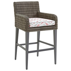 Tommy Bahama Outdoor Living Cypress Point Ocean Terrace Outdoor Bar Stool