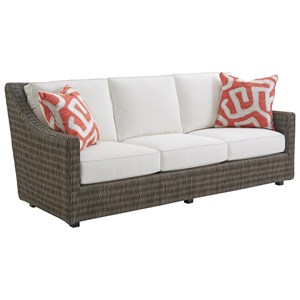 Tommy Bahama Outdoor Living Cypress Point Ocean Terrace Demi Sofa