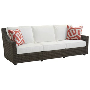 Tommy Bahama Outdoor Living Cypress Point Ocean Terrace Outdoor Sofa
