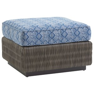 Tommy Bahama Outdoor Living Cypress Point Ocean Terrace Outdoor Chair Ottoman