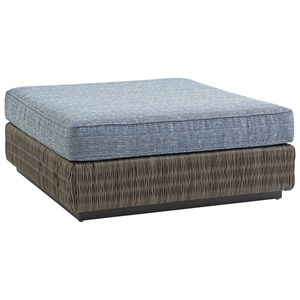 Tommy Bahama Outdoor Living Cypress Point Ocean Terrace Outdoor Cocktail Ottoman