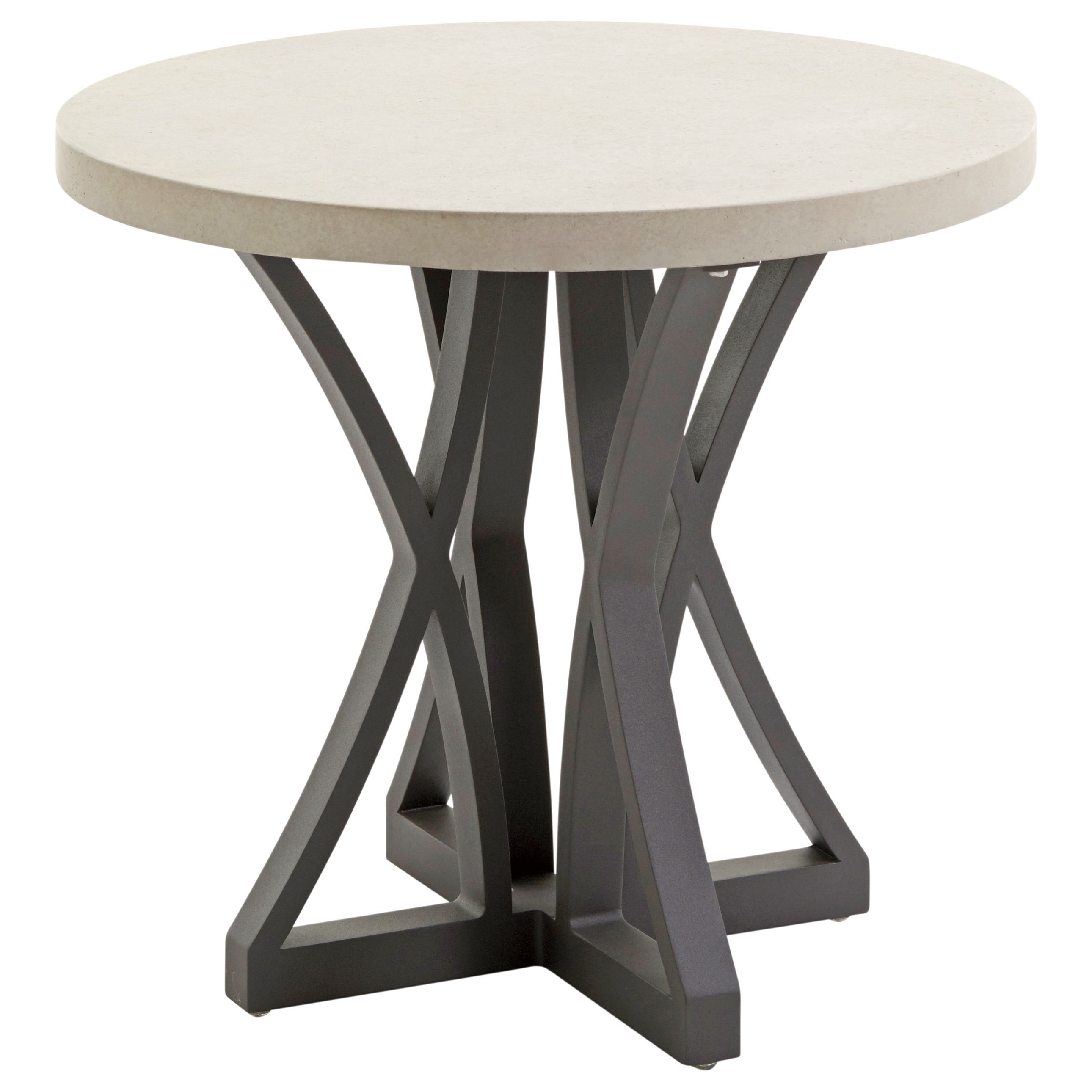 Cypress Point Ocean Terrace Outdoor Side Table with Weatherstone Top by Tommy Bahama Outdoor Living at Baer's Furniture