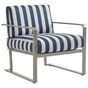 Tommy Bahama Outdoor Living Del Mar Outdoor Chair - Item Number: 3800-10+CS -7044-31
