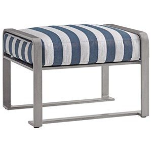 Tommy Bahama Outdoor Living Del Mar Outdoor Mini Ottoman