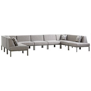 Tommy Bahama Outdoor Living Del Mar 9 Pc Sectional