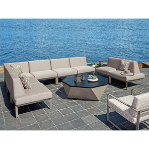 Tommy Bahama Outdoor Living Del Mar 8 Pc Sectional