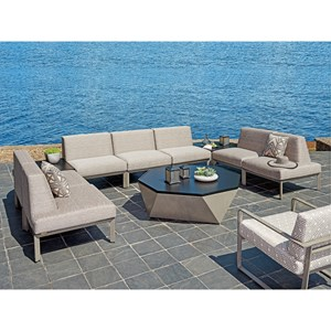 Tommy Bahama Outdoor Living Del Mar 7 Pc Sectional