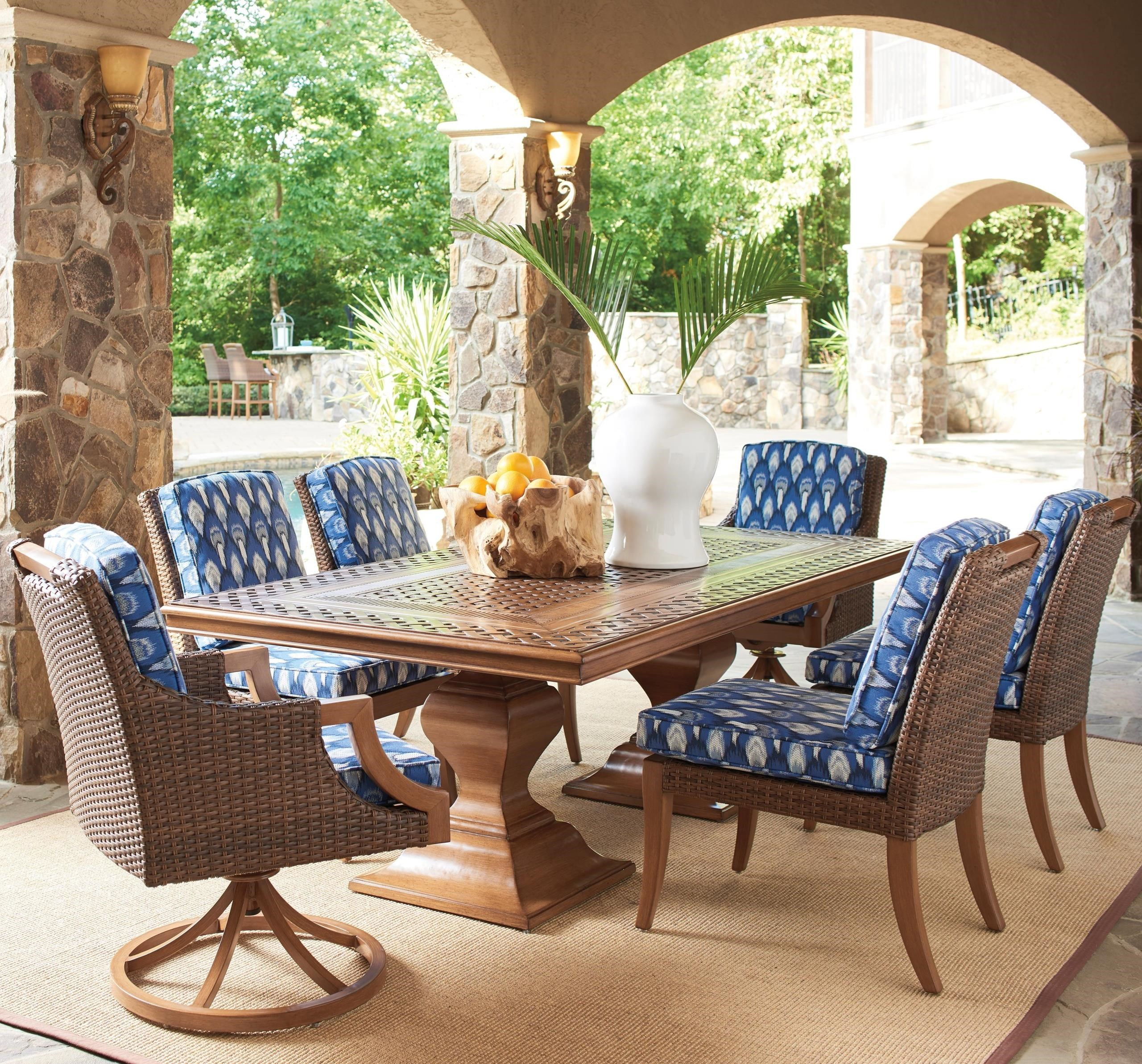 Harbor Isle 7-Piece Outdoor Dining Set by Tommy Bahama Outdoor Living at Baer's Furniture