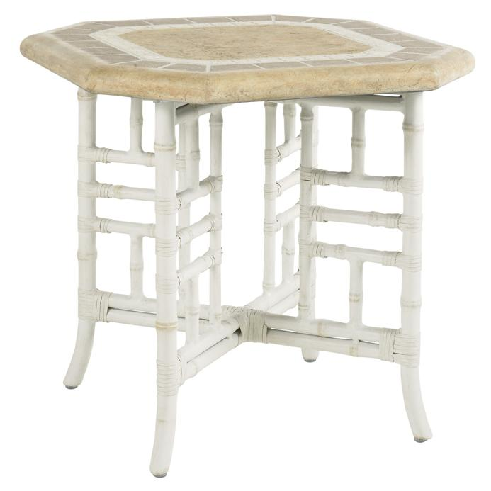 Tommy Bahama Outdoor Living Island Estate Hamptons Outdoor Side Table - Item Number: 3150-954
