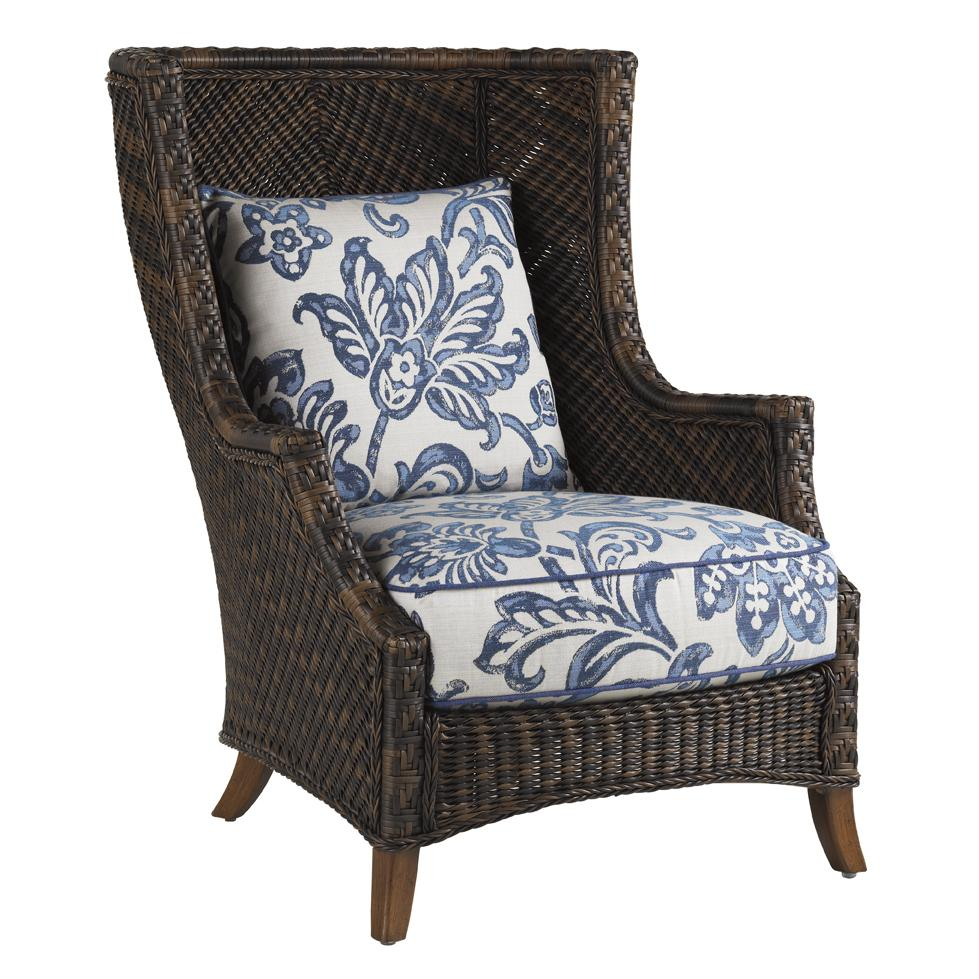Tommy Bahama Outdoor Living Island Estate Lanai Outdoor Wing Chair - Item Number: 3170-10+CS3170-10