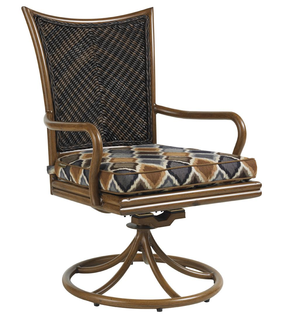 Tommy Bahama Outdoor Living Island Estate Lanai Outdoor Swivel Rocker Dining Chair - Item Number: 3170-13SR+CS3170-13SR