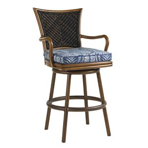 Tommy Bahama Outdoor Living Island Estate Lanai Outdoor Swivel Bar Stool