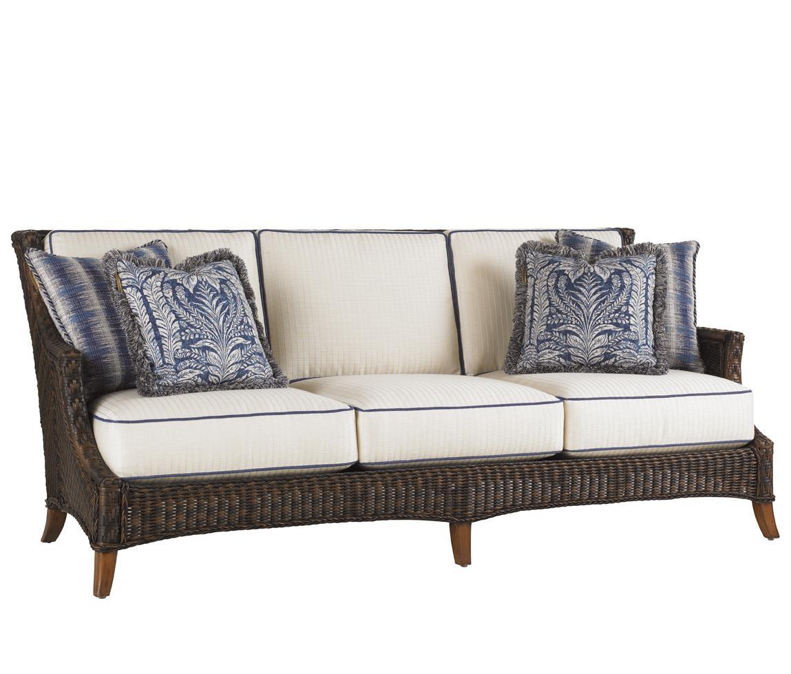 Outdoor Boxed Edge Sofa