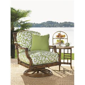 Tommy Bahama Outdoor Living Island Estate Veranda Chair and Table Set