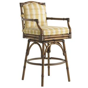 Tommy Bahama Outdoor Living Island Estate Veranda Outdoor Swivel Bar Stool