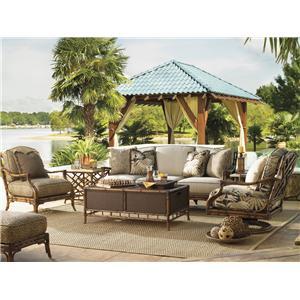 Tommy Bahama Outdoor Living Island Estate Veranda 5 Piece Patio Set