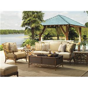 Tommy Bahama Outdoor Living Island Estate Veranda 4 Piece Patio Set