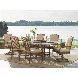 Tommy Bahama Outdoor Living Island Estate Veranda 7 Piece Outdoor Dining Set