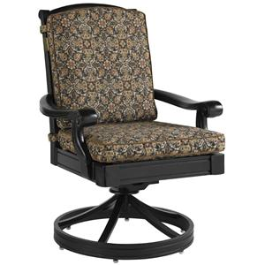 Tommy Bahama Outdoor Living Kingstown Sedona Swivel Rocker Dining Chair