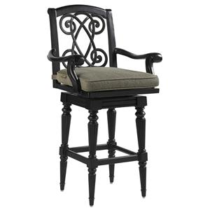 Tommy Bahama Outdoor Living Kingstown Sedona Swivel Bar Stool
