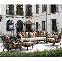 Tommy Bahama Outdoor Living Kingstown Sedona 6 Piece Patio Set - Item Number: 3190-33+-33S+2x11+44+2x953
