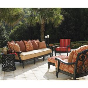 Tommy Bahama Outdoor Living Kingstown Sedona 6 Piece Patio Set with Accent Table