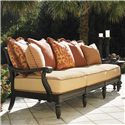Tommy Bahama Outdoor Living Kingstown Sedona 6 Piece Patio Set with Accent Table - Set Features Scatterback Sofa