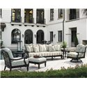 Tommy Bahama Outdoor Living Kingstown Sedona 6 Piece Patio Set - Item Number: 3190-33+33S+11+44+11SW+2x953